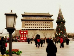 Beijing 2011 (rosespectacles) Tags: china travel photography beijing qianmen peking