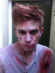 Maze Makeup 2012 (teabuckle) Tags: halloween blood zombie makeup fakeblood zombiemakeup