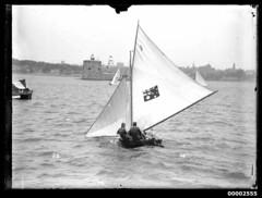 6 footer off Fort Denison, Sydney Harbour
