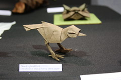 New England Bird - Alexander Soukas (EZ Origami) Tags: usa origami display exhibit exhibition 2012 origamiusa