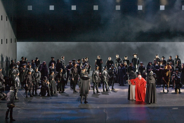 "The Royal Opera in Nicholas Hytner's production of Don Carlo.  The Royal Opera 2009.  <a href=""http://www.roh.org.uk"" rel=""nofollow"">www.roh.org.uk</a>.  Photo by Catherine Ashmore"