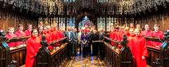 Chester Cathedral Choir with members of the Old Choristers Association June 2012 (cathedralchoir) Tags: