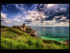 La Latte (Kemoauc) Tags: france coast nikon brittany fort bretagne latte fortress hdr topaz photomatix d300s