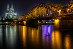 Cologne Cathedral and Hohenzollern Bridge (1982Chris911 (Thank you 1.250.000 Times)) Tags: bridge germany europe cathedral gothic cologne kln rhine rhein colognecathedral hohenzollernbridge