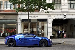 Chrome Blue. (Alex Penfold) Tags: auto street camera blue london cars alex sports car sport mobile canon photography eos photo cool flickr image awesome flash picture super spot knightsbridge arabic exotic chrome photograph arab spotted hyper bugatti supercar spotting exotica sportscar 2012 qatar sportscars centenaire supercars veyron penfold sloane spotter hypercar 60d hypercars alexpenfold