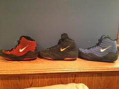 Nike Og Inflict Tri-fecta(all gone) (Cwell113(973-464-2496)) Tags: blue red black xbox360 dan sunglasses speed shoe gold glasses o cut wrestling nike camo read og freak beat asics second olympic fighting adidas lose studios gables kendall grape rwb internationals dre wrestle gatorade oakley gable freaks beats kendalls singlet freek shoelaces 360s asic wrestlingshoes pusuit inflict takedowns lytes footsweep splitseconds kolat goldenlaces