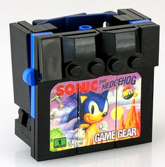 Supersonic - transformed (Baron Julius von Brunk) Tags: nyc lego sonic transformers legos sega hedgehog genesis knuckles moc gamegear brothersbrick baronvonbrunk juliusvonbrunk