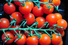 Cherry tomatoes (flickrfanmk2007) Tags: red green cherry 50mm nikon tomatoes vine d300