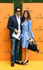 Natasha Rufus Isaacs and guest Veuve Clicquot Gold Cup - Polo tournament held at Cowdray Park Polo Club Midhurst, England