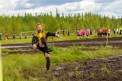 Anu Meininki - FC Pirates 2-0 (heikkipekka) Tags: finland football soccer swamp anu jalkapallo suo swampsoccer hyrynsalmi suopotkupallo anumeininki vuorisuo
