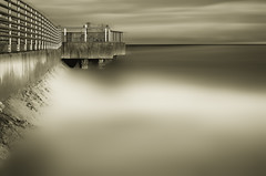 Boynton Inlet in June - Two (sandracanning) Tags: beach water long exposure florida inlet boynton
