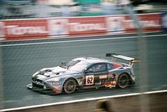 Team Modena Aston Martin DBR9 GT1 (Moments of Yesterday) Tags: david france film 35mm nelson 2006 jr mans le hours 24 antonio amateur francais brabham garcía sarthe piquet