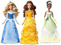 More Photoshopped Singing Princesses! (Christo3furr) Tags: store dolls princess disney aurora belle tiana