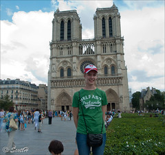 Notre Dame (Scottmh) Tags: travel paris france sarah french photography photo nikon europe eurostar july notre dame 2012