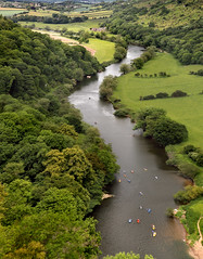 Canoeing on the River Wye (Stephen Laverack) Tags: