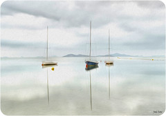 Pintando el Mar Menor (Legi.) Tags: mar los nikon 1855 menor urrutias legi d5100