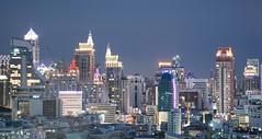 DSC_3817 (Ignacio Blanco) Tags: thailand bangkok metropolis oriental orientalcity future night lighttrails longexposure infrastructure highway cityscape skyscrapers skyline vantagepoint ratchapraroptowermansion