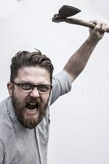 (Stewart Black) Tags: wah werehere chris mad axe man