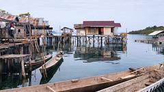 House on the Water (Collin Key) Tags: bajau seagypsies nativepeople sulawesi malenge houses village huts indonesia sea idn dwellings togianislands