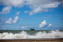 drowned (Rasande Tyskar) Tags: seaworker offshore rig platform bohrinsel dnemark denmark northsea nordsee wasser ocean ozean meer wrack schiffswrack wreck stranded capzise gestrandet gesunken