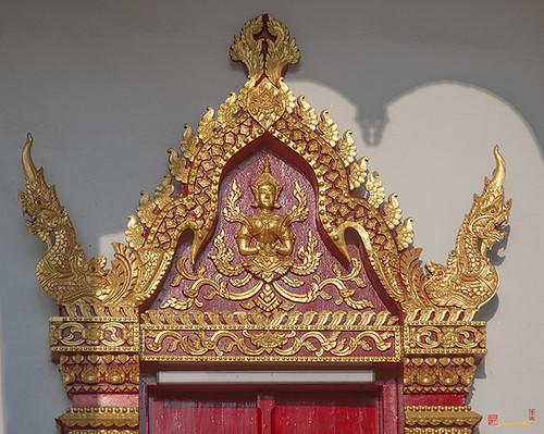 Wat Santiwan Phra Wihan Door Lintel (DTHCM0983)