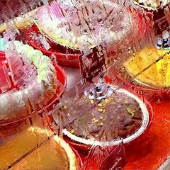 Condensation on the Cases (Renee Rendler-Kaplan) Tags: glass condensation sweaty wet pies piecase forsale dessert indoors inside bakerssquare iphone iphoneography august 2016 food condensationonthecases reneerendlerkaplan chicagoist consumerist chicagoreader round pietins