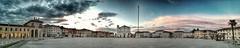 Palmanova (Cristina Birri) Tags: palmanova piazza grande udine friuli tramonto sunset duomo