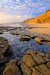 Beach and tide pools by the Sunset Cliffs, San Diego (eikonologos.images) Tags: myfujifilm tidepool sunsetcliffs sandiego