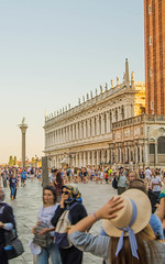 Oh, Venice! (Varokka_Sillia) Tags: venice italy summer hat woman light sunset