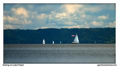 Sailing on Lake Pepin (gardnerphotos.com) Tags: lakepepin wisconsin minnesota gardnerphotoscom sailboats mississippiriver twincities lacrosse wi