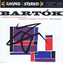 Bartok Concerto for Orchestra - Reiner RCA Living Stereo CD (sacqueboutier) Tags: cd records record reissue audiophile lp lps lplover lpcollection lpcover lpcollector lpcoverart vintage chicago reiner