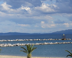 Seascape (alekathom) Tags: sea seascape volos greece sky clouds