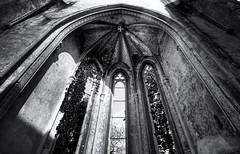 Ruin Church Wachau (Andr Schnherr) Tags: visionhunter 40d monochrome ruin ruine church kirche wachau building gebude schwarzweis