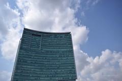 World Trade Centre (Debatra) Tags: bangalore blore bengaluru india karnataka worldtradecentre wtc nikon nikkor 1855 1855mm sky skies architecture clouds