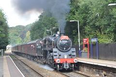 76084 Ramsgreave and Wilpshire 20-9-16. (Blackburns Railway Scene) Tags: 76084 brstandards pocketrocket 5m50 ramsgreaveandwilpshire ainsworthbridge