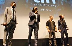 "Q&A, ""Barry"" World Premiere (larry-411) Tags: tiff film festival filmfestival toronto torontofilmfestival ryerson barry vikramgandhi ellarcoltrane"