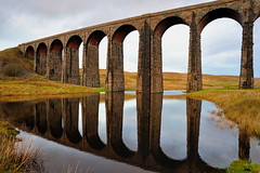 Seeing double (images@twiston) Tags: seeingdouble ribblehead reflection reflections viaduct double puddle water flood rainwater ribbleheadviaduct settle carlisle settlecarlisle yorkshire northyorkshire midland railway main line 1875 battymoss battywifehole sebastopol belgravia scheduledancientmonument 24 arch arches ribblesdale dales 3peaks yorkshire3peaks national park yorkshiredalesnationalpark desmond storm stormdesmond fields grass farm farmland moorland moor landscape stone stonework settleandcarlisle jericho december winter sky manmade my365year wide angle wideangle imagestwiston