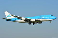 PH-BFV KLM Boeing 747-400 EHAM 14/9/16 (David K- IOM Pics) Tags: ph phbfv b744 boeing 747 747400 klm kl royal dutch airlines ams eham amsterdam schiphol airport