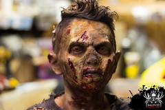 Ready for a closeup (SlayervilleProd) Tags: zombie makeup halloween baldwinasylum slayerville slayervilleproductions undead hauntedhouse baldwinasylum2016videoshoot