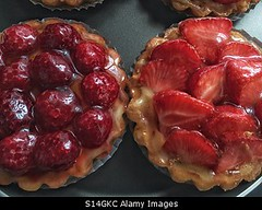 Photo accepted by Stockimo (vanya.bovajo) Tags: stockimo iphonegraphy iphone strawberry tart raspberry dessert sweet pastry food close up french patisserie