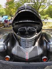 Wheaton, IL, Cantigny Park, Classic Car Show, Graham Sedan (circa 1937) (Mary Warren (7.3+ Million Views)) Tags: wheatonil cantignypark classiccars car sedan black chrome graham vehicle