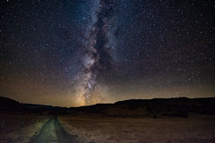 Here I Am (mickle229) Tags: stars milkyway galaxy night desert road nighttime ranch easternoregon fossil oregonexplored