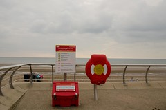 Guardian Lifebuoy Housing (Glasdon International) Tags: glasdon glasdoninternational bins blackpool guardian lifebuoy lifebuoyhousing seafront beach saftey