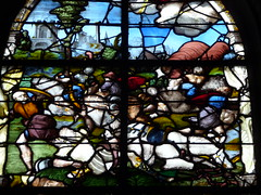 Stained glass (Andrea Kirkby) Tags: stained glass renaissance chartres aignan france