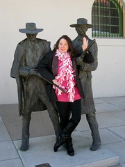 Wyatt Earp and Doc Holliday Capture Fugitive from ABT In Tucson, And She Escapes! (Chic Bee) Tags: misscecily wyattearp docholiday southernarizonatransportationmuseum tucson arizona downtown southwesternusa americansouthwest americanwest