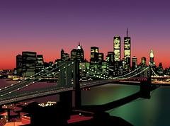 A Night on the Town (Rorymacve Part II) Tags: worldtradecenter twintowers wtc newyork newyorkcity nyc statueofliberty harbour hudsonriver eastriver water ferry river brooklynbridge ellisisland empirestatebuilding manhattan newjersey brooklyn usa