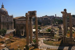 View of the Roman Forums