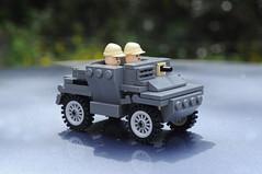 Daimler Dingo Scout Car (Florida Shoooter) Tags: lego northafrica ww2 british scoutcar daimlerdingo