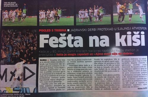Fešta na kiši (Novi List, 03.09.2012)