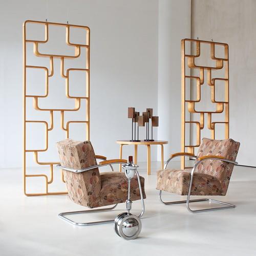 Contemporary vintage interior design